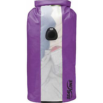 Seal Line Bulkhead View 20L Dry Bag - Purple