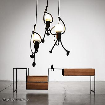Creative Little Man Pendant Lights