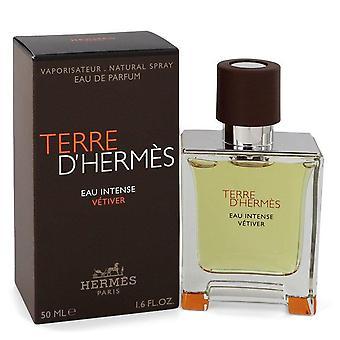 Terre D'hermes Eau Intense Vetiver Eau De Parfum Spray By Hermes 1.7 oz Eau De Parfum Spray