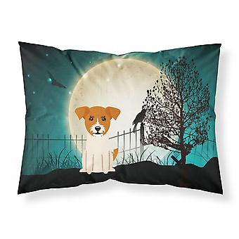 Caroline's Treasures Halloween Scary Jack Russell Terrier Tessuto Federa standard Bb2298Pillowcase