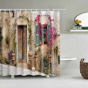 3d Blackout Shower Curtain ( Set 2)