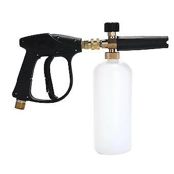 1/4 Inch snow foam washer sprayer car wash soap lance spray pressure jet bottle