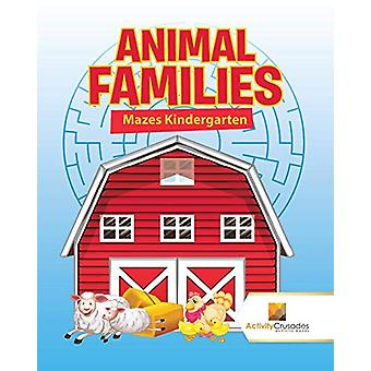 Animal Families - Mazes Kindergarten by Activity Crusades - 9780228220