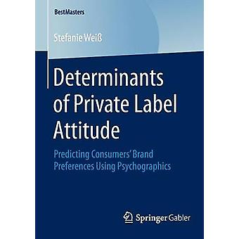 Determinanten van Private Label Attitude - Predicting Consumers' Brand P