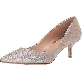 Jewel Badgley Mischka Women's ROYALTY Shoe, Gold Glitter, 7.5 M US