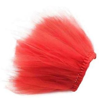 Red Dog Tutu Skirt | Xs-xxxl
