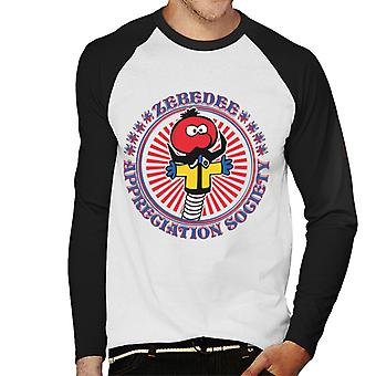 The Magic Roundabout Zebedee Appreciation Society Men's Baseball Long Sleeved T-Shirt