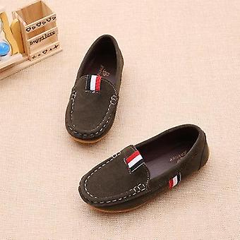 Children's Dance Shoes Sneakers Spring Casual Leather Peas Soft Comfortable