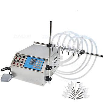 Máquina de llenado de líquidos de la bomba de control digital eléctrico
