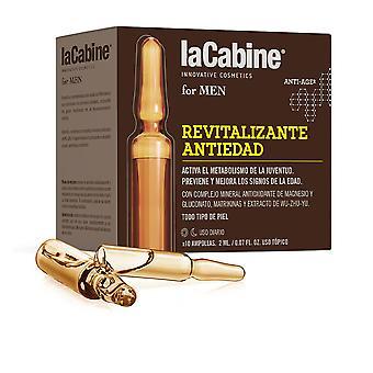La Cabine La Cabine för herrar Ampollas Revitalizante Anti-edad 10 X 2 Ml För herrar
