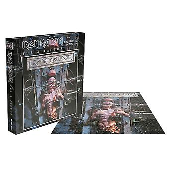 Iron Maiden Jigsaw Puzzle The X Factor Album Cover new Official Black 500 Piece