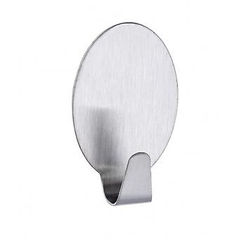 stick hook maxi stainless steel silver 2 pieces