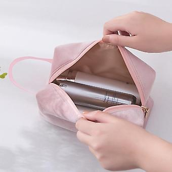 Women Cosmetic Bag, Soft Make-up Storage Bag-pads