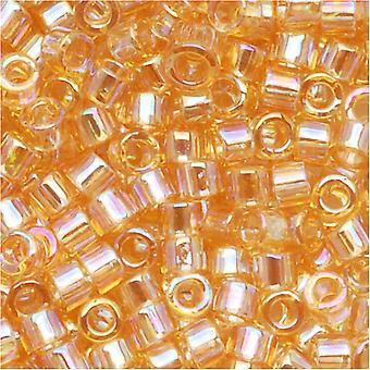 ميوكي ديليكا بذور الخرز، 10/0 الحجم، 8 غرام، ضوء العنبر AB DBM0100
