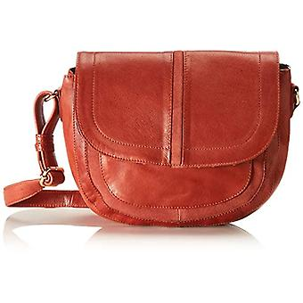 PIECES PCGEMMA LEATHER CROSS BODY FC, Women's Folder Bag, Rust/detail: suede, One size fits all
