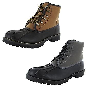 Madden by Steve Madden Mens M-Cornel Lace Up Boot Shoe