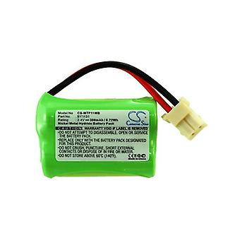 Cameron Sino Mtp11Mb Battery Replacement For Motorola Baby Phone