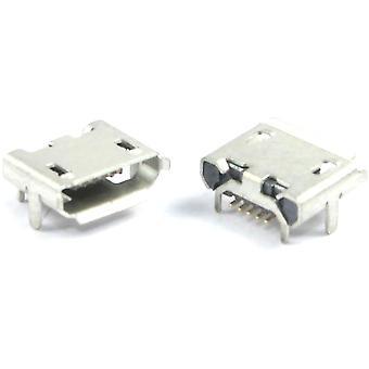 10kpl USB Micro SMD -liittimen liitäntä - oikea kulma tyyppi B