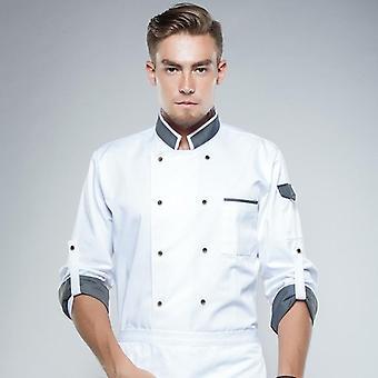 Veste chef uniforme à manches longues