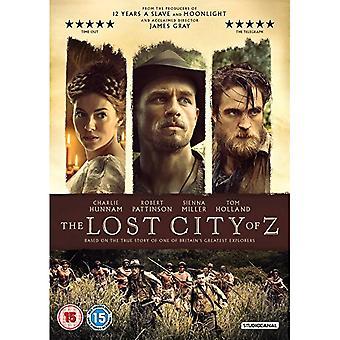 Den förlorade staden Z DVD