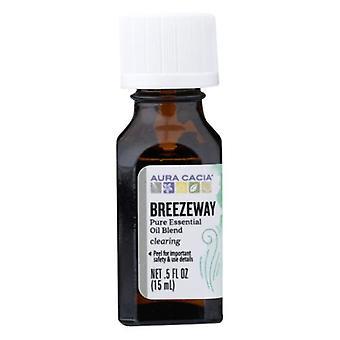 Aura Cacia Essential Oil Blend, Breezeway 0.5 Oz