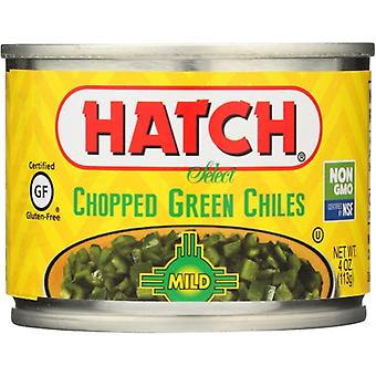 Hatch Green Chili Chop Mild, Case of 24 X 4 Oz