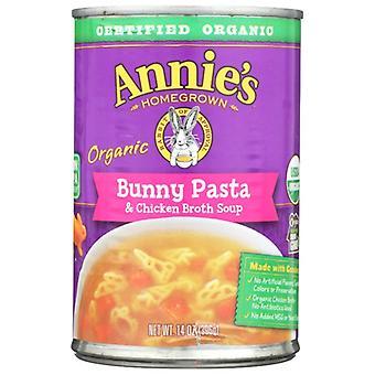 Annie's Homegrown Soup Bunny Pasta Chix Brt, Case of 8 X 14 Oz
