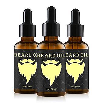 Luonnollinen 30ml nopeuttaa kasvojen hiukset kasvaa parta eteerinen öljy