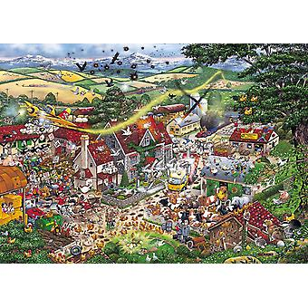 Gibsons I Love The Farmyard Jigsaw Puzzle (1000 Pieces)