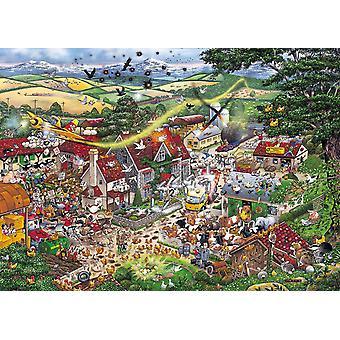 Gibsons me encanta el granja rompecabezas Puzzle (1000 piezas)