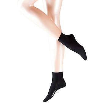Falke Cotton Touch chaussettes courtes - noir