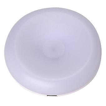 Touch sensor night light flashlight magnetic base wall lamp usb charged circle portable dimming night lamp