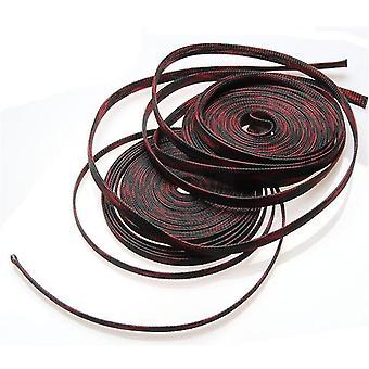 ケーブル三つ編み断水スリーブAペット拡張可能なワイヤープロテクター