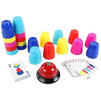 Toys Interaction Table Games Logic Educational Training Stacking High Set Of Cup Children's Puzzle