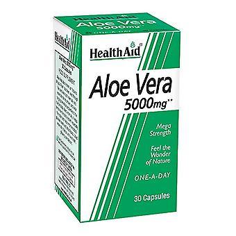 HealthAid Aloe Vera 5000mg korkit 30 (802000)