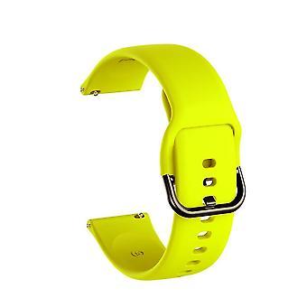 Silicone Band Watch Soft Sport Watchband Strap Bracelet