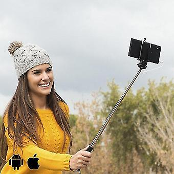 Photo mounting supplies selfie stick with cable
