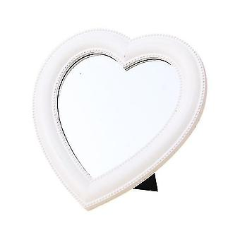 Mirrors makeup mirror vanity mirror desk cosmetic mirror heart shape mirror for makeup handheld vanity