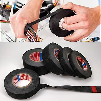 15 Meter Heat-resistant Flame Retardant Tape Coroplast Adhesive Cloth Tape For Car Cable Harness Wiring Loom Protection