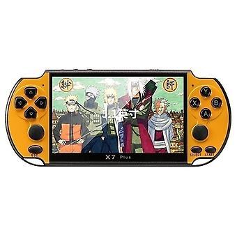 2021 Nouvelle mise à niveau 5.1inch Joueur de jeu portable 16gb Rom Psp Console Hand Game Machine Intégrée 10000 + Jeux Pk Nintendo Switch X6 / x7 / x7plus