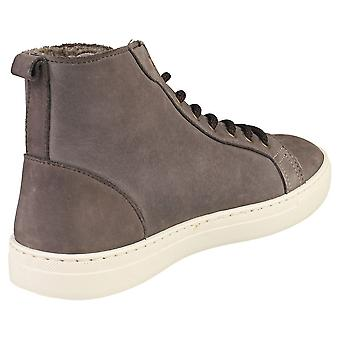 Natural World Rio Napa Mens Casual Boots in Anthracite