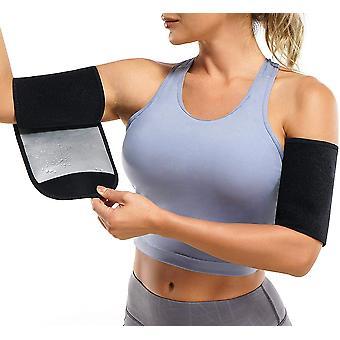 Braț trimmere Femei Pereche Sauna Sudoare Brațul Picior Shaper Benzi reglabile Trainer toner Mâneci pentru sport antrenament