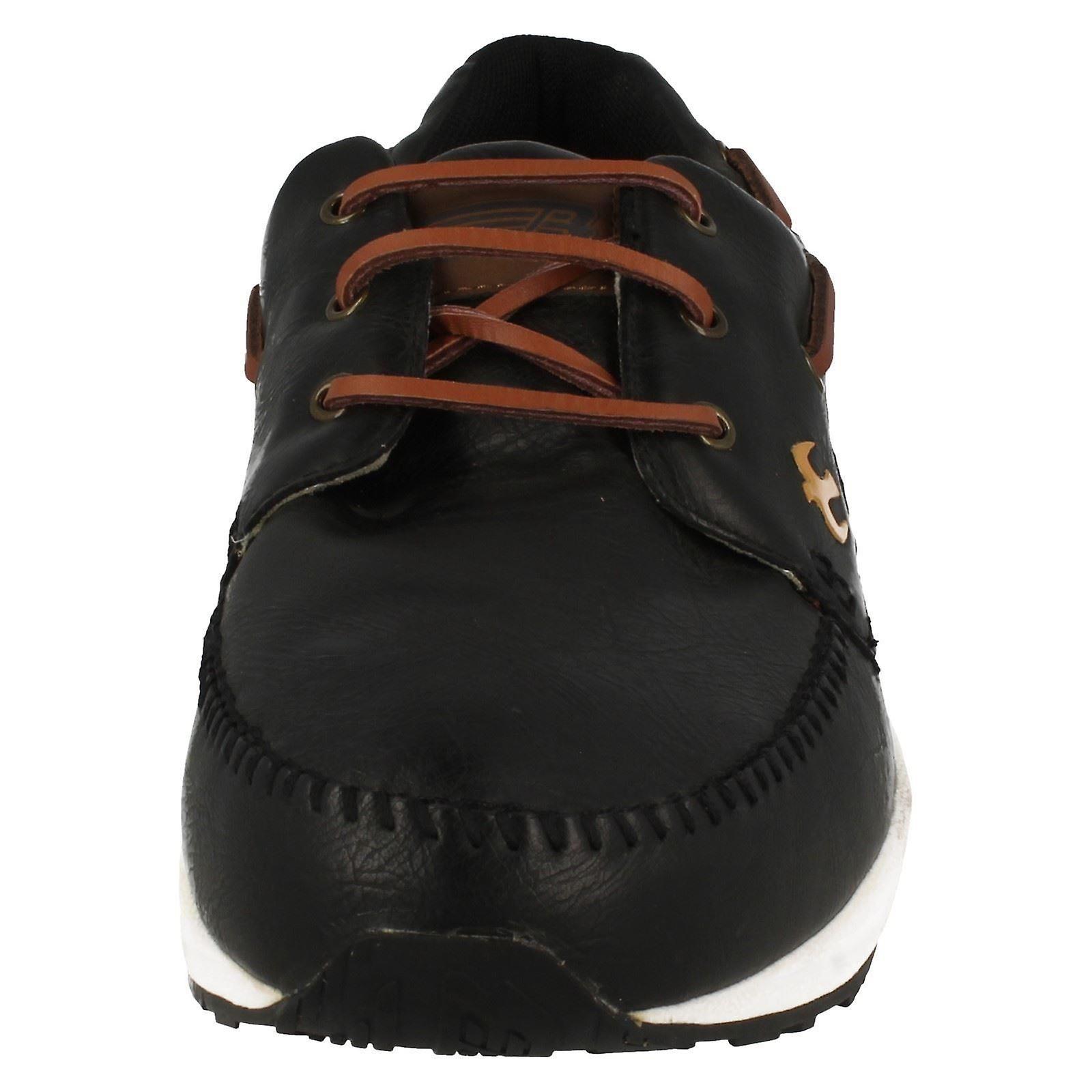 Mens Brakeburn Casual Lace Up chaussures que cinq a parlé