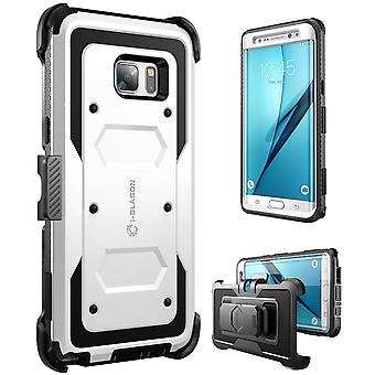 i-Blason-Galaxy Note 7 Case-Armorbox Fullbody Case-White