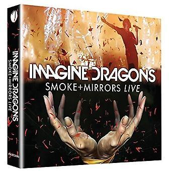 Imagine Dragons - humo + importación espejos USA Live [DVD]