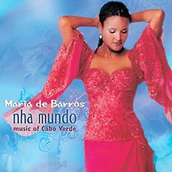 Maria De Barros - Nha Mundo [CD] USA import