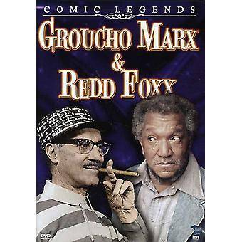 Comic Legends: Groucho Marx & Redd Foxx [DVD] USA import