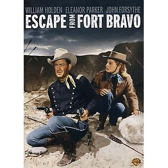 Escape From Fort Bravo [DVD] USA import