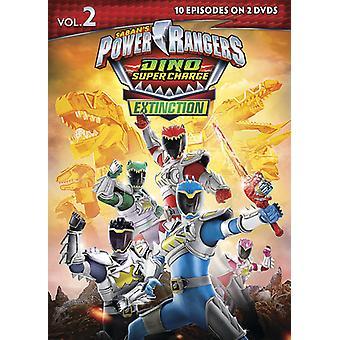 Power Rangers Dino Super Charge Aussterben 2 [DVD] USA importieren
