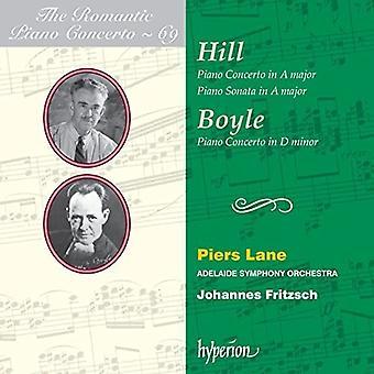 Piers Lane - Romantic Piano Concerto 69 [CD] USA import